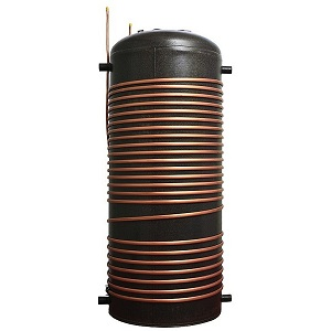 hot water cylinder with copper heat exchanger for heat pump tank 300 300png