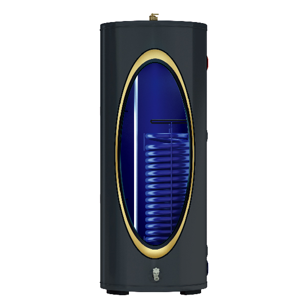 solar water tank one coil