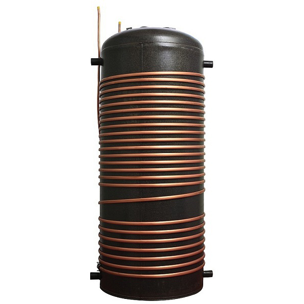 Gmo water heater enamel water tank for heat pump gmo for Copper hot water tank