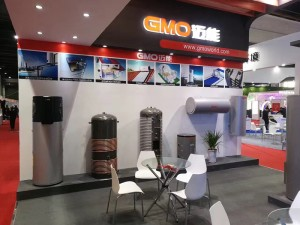 gmo enamel tank shanghai heat pump exhibition 201702