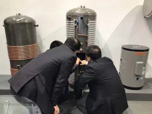 gmo enamel tank shanghai heat pump exhibition 201703