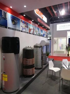gmo enamel tank shanghai heat pump exhibition 201704