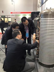 gmo enamel tank shanghai heat pump exhibition 201706
