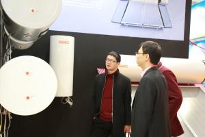 gmo solar water heat tank instant type