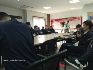 water heater factory 5s management training 201703